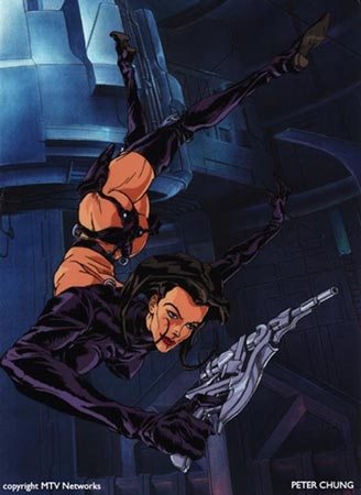 Chronicles Of Riddick Dark Fury Animator Peter Chung