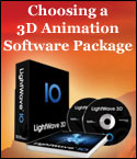 Choosing a 3D Animation Software Package