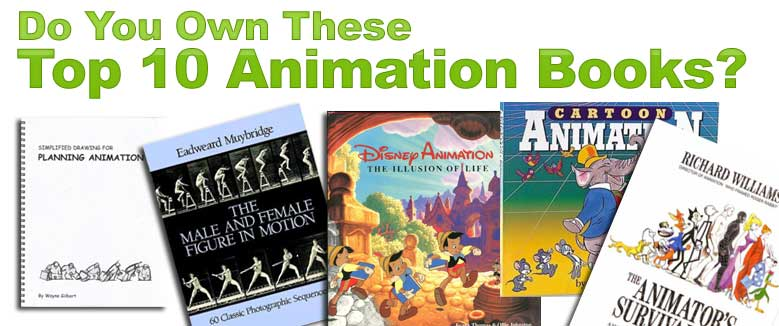 top 10 animation books